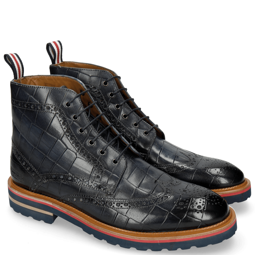 Bottines Matthew 7 Turtle Navy