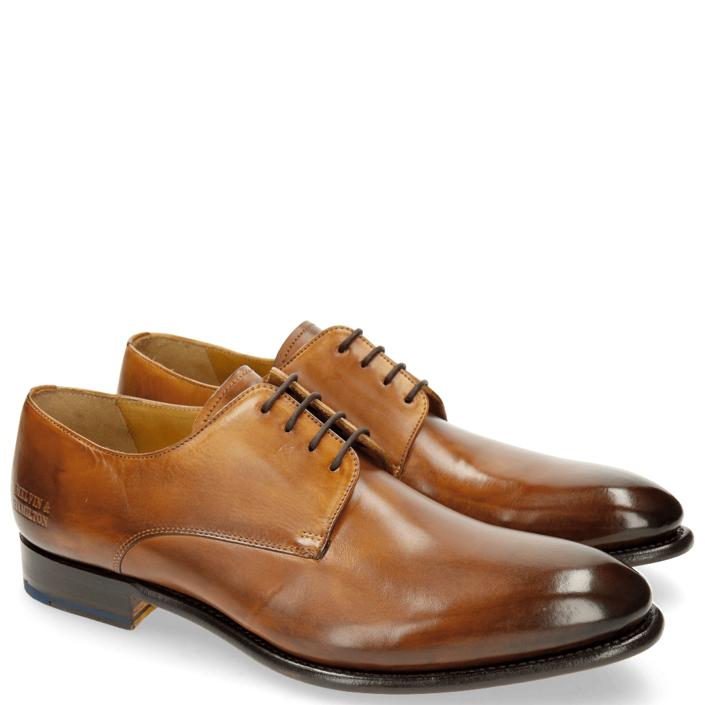 Derbies Lionel 3 Tan LS Brown