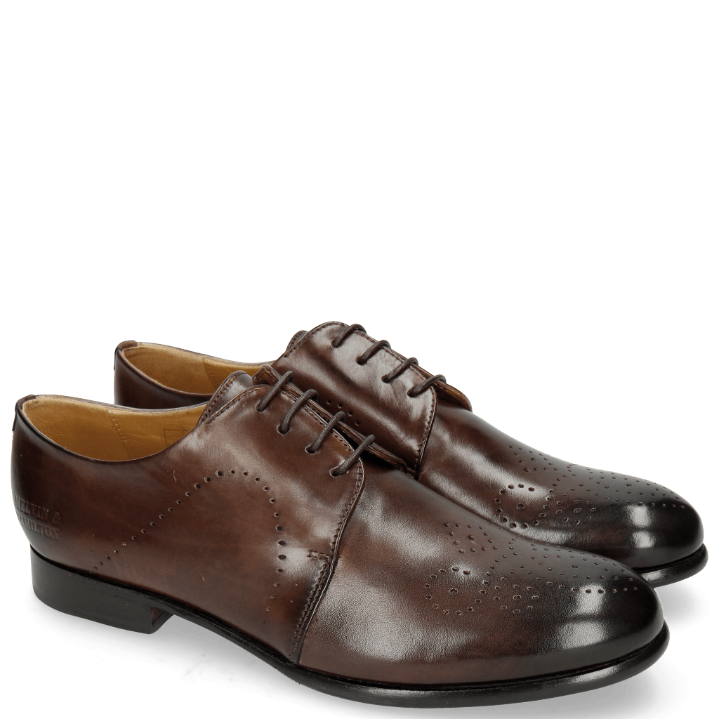 Derbies Sally 1 Mogano Lining Rich Tan