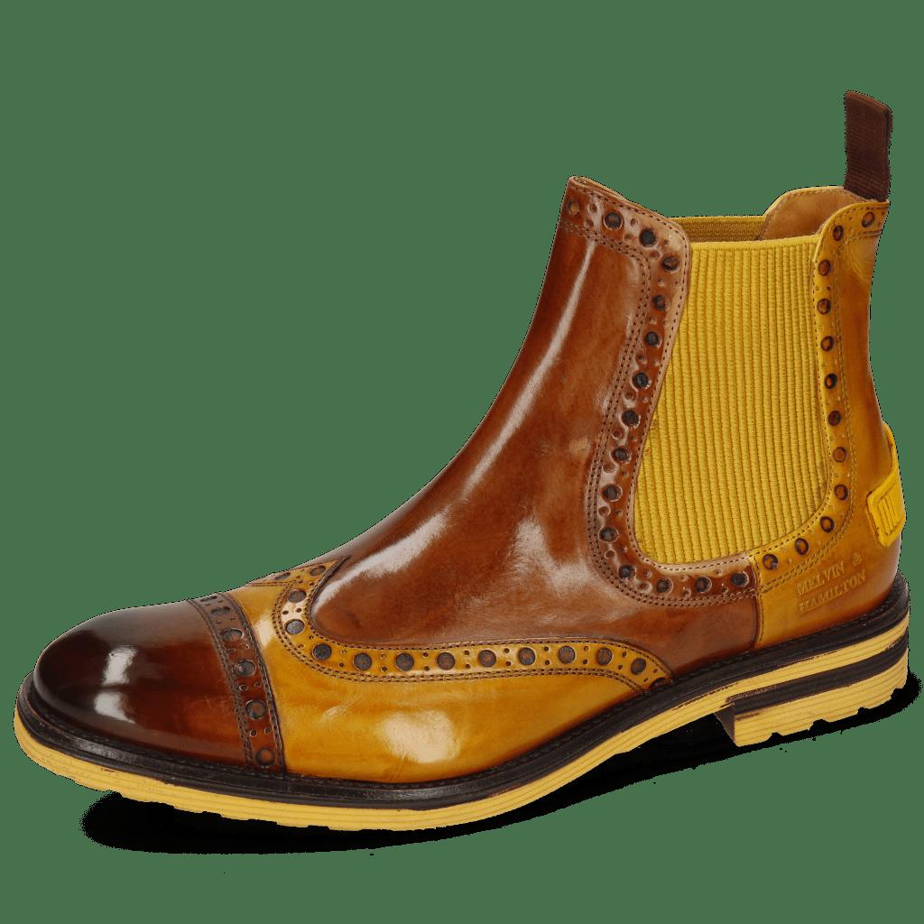 Bottines Eddy 46 Wood Indy Yellow