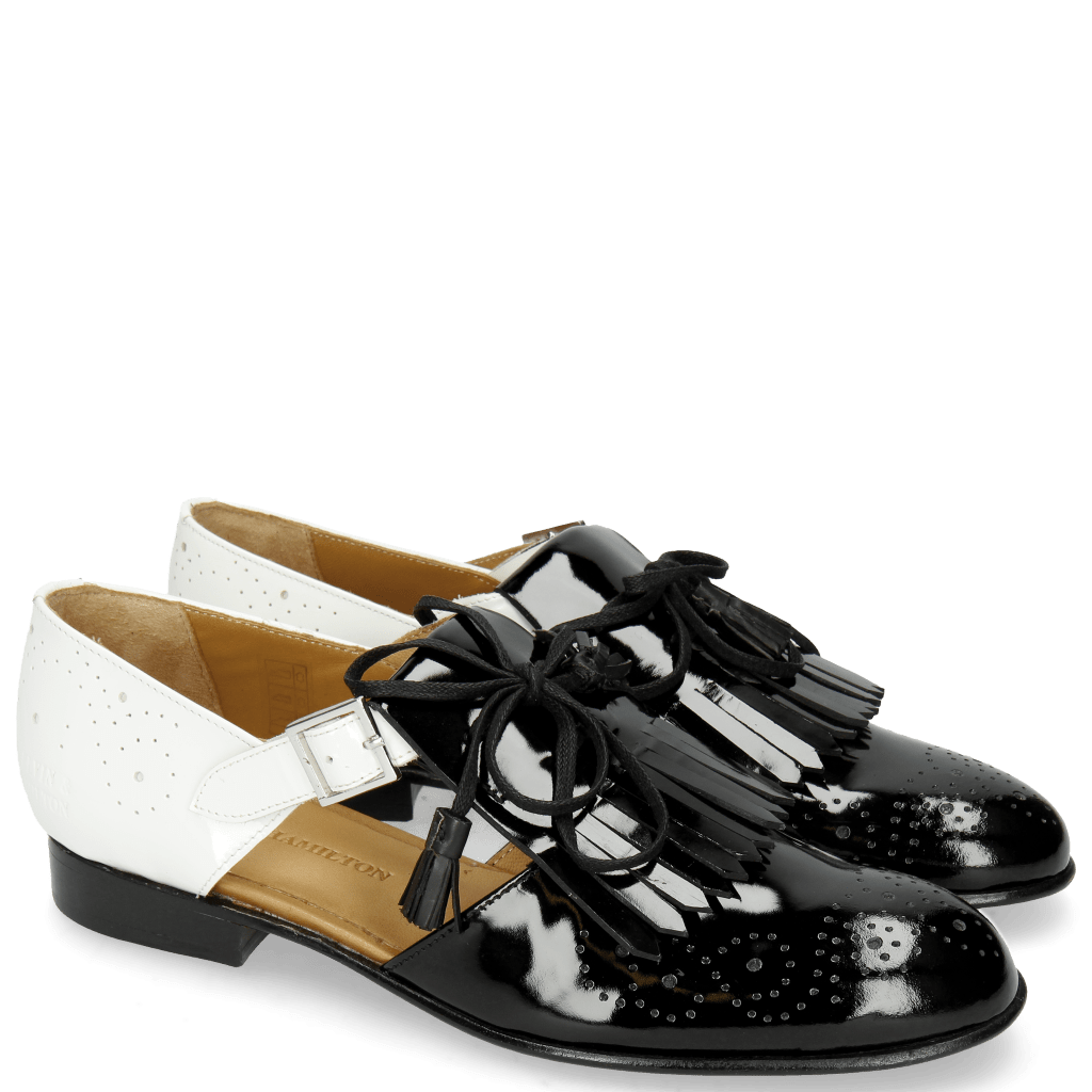Monks Sally 99 Patent Black White