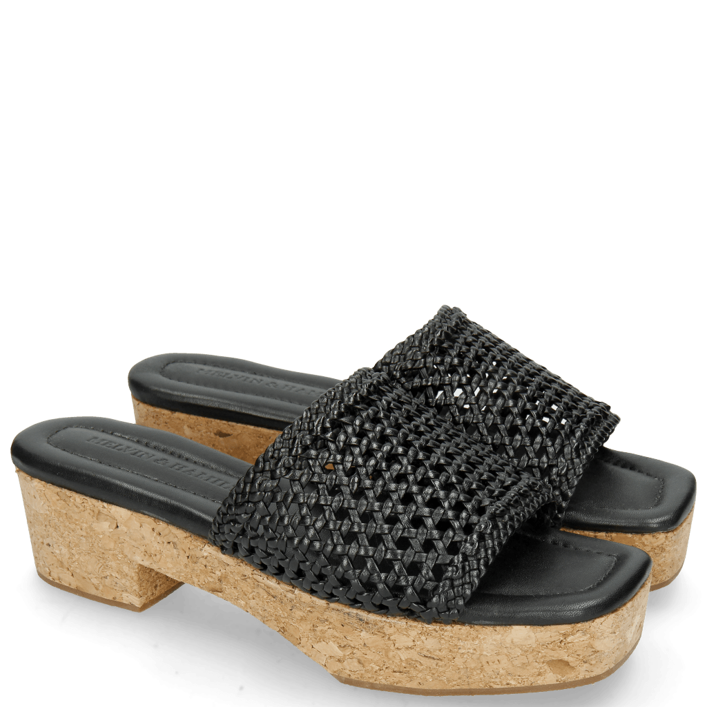 Mules Elodie 26 Mignon Sheep Black