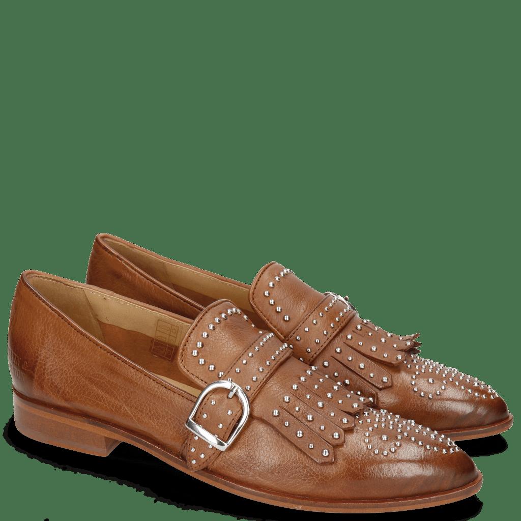 Mocassins Jessy 26 Pavia Tan Lining Collar Rich Tan