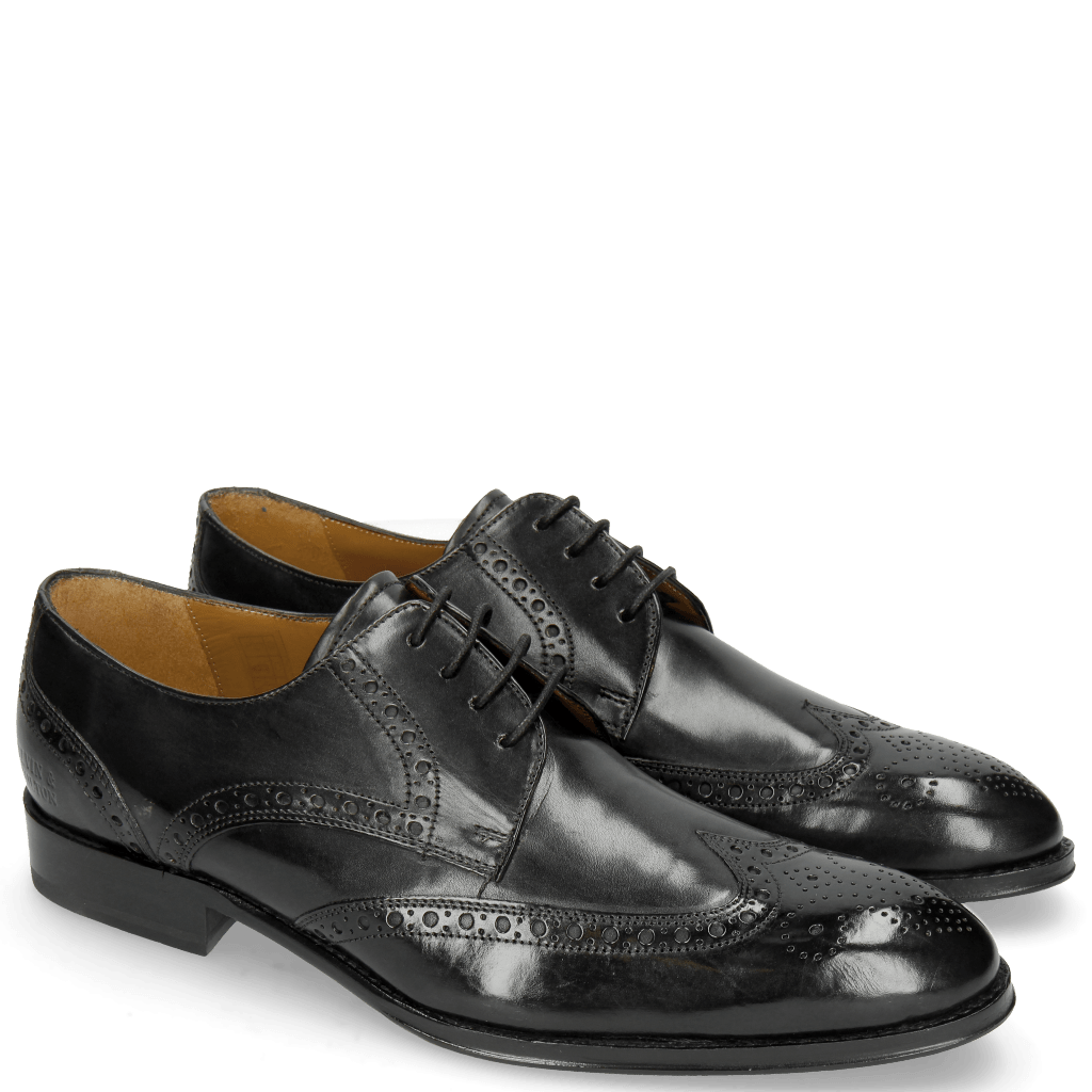Derbies Kane 5 Black Lining Rich Tan