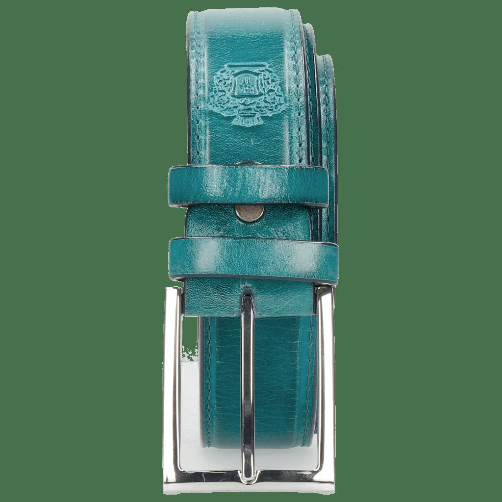 Ceintures Larry 1 Turquoise Classic Buckle