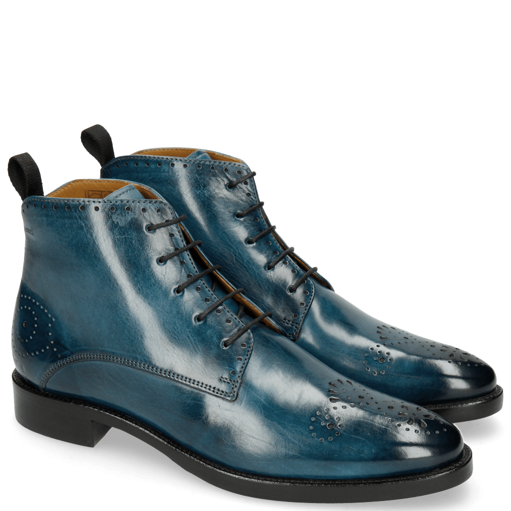 Bottines Betty 4 Mid Blue Lining
