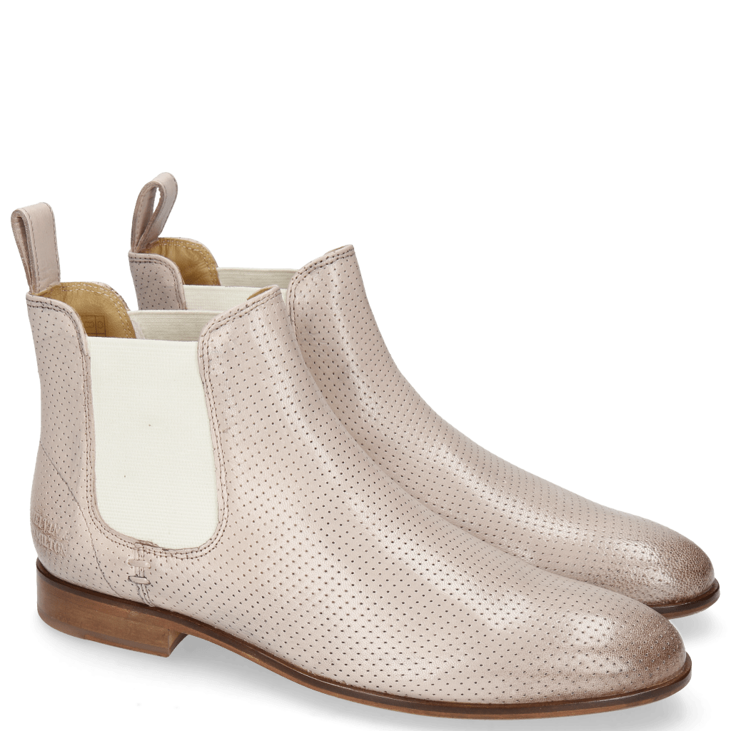 Bottines Susan 10 Salerno Perfo Pale Rose