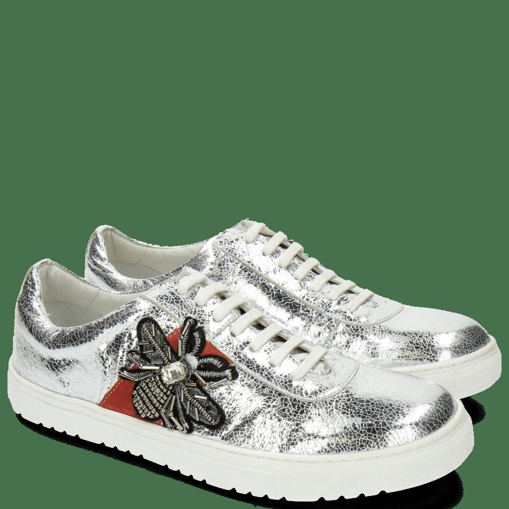 Sneakers Jean 3 Metal Silver Bee