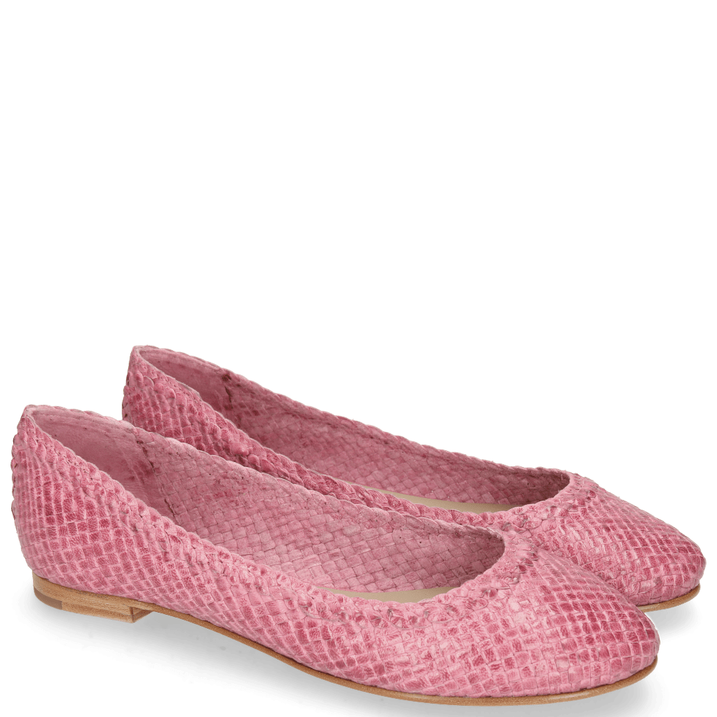 Ballerines Kate 5 Woven Fuxia