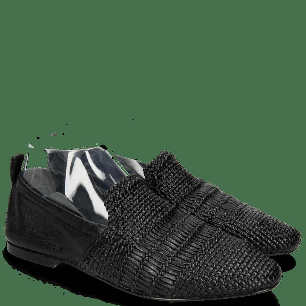 Mocassins Hailey 1 Mignon Black Glove Nappa