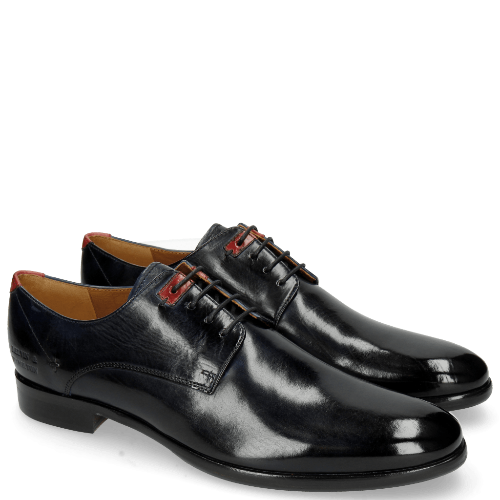 Derbies Clint 1 Navy Deco Pieces Ruby
