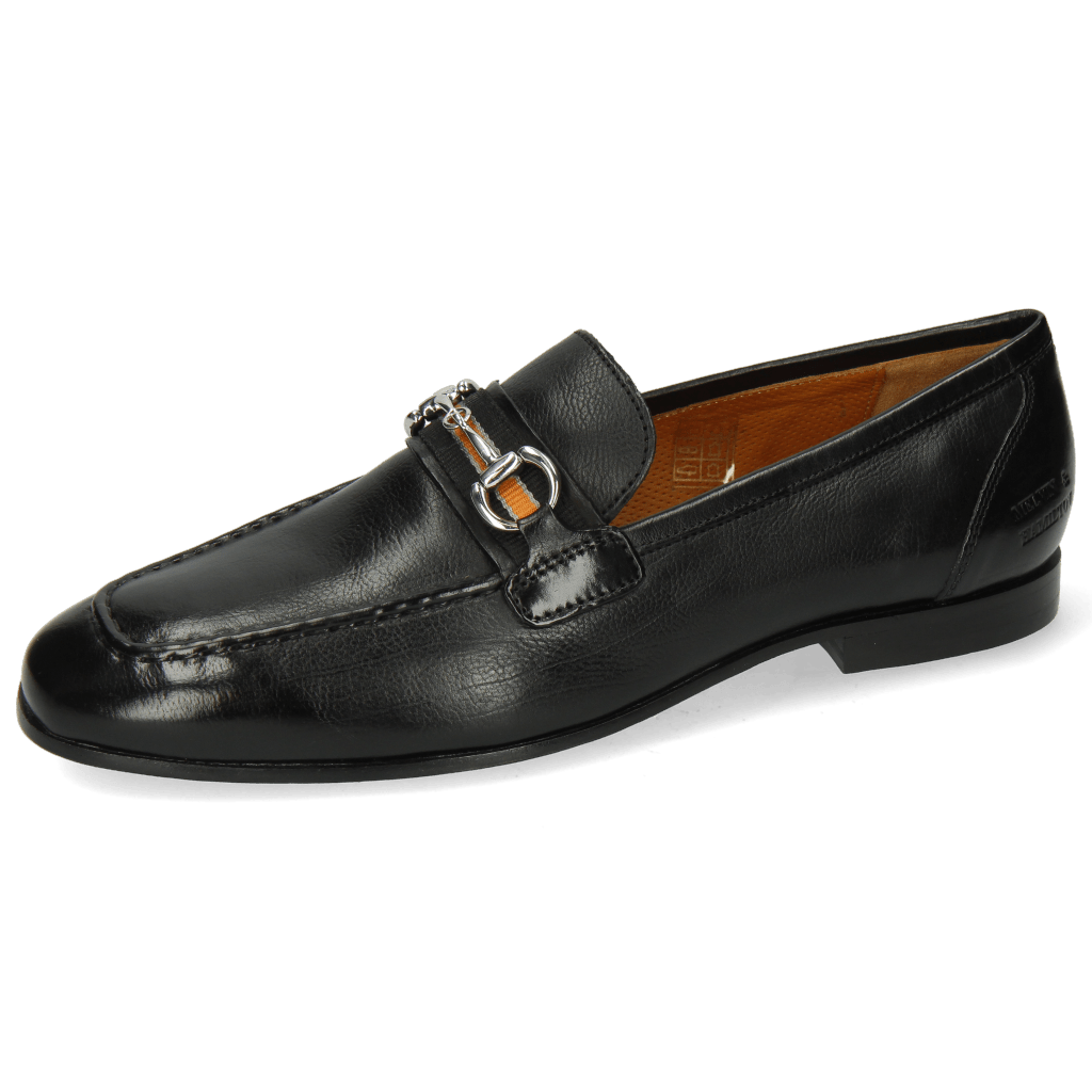 Mocassins Clive 16 Imola Black Strap Black Orange