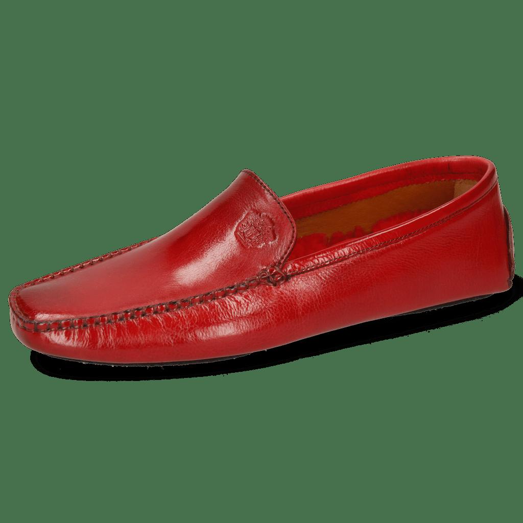 Mocassins Home Donna Imola Rio Red Socks Sherling