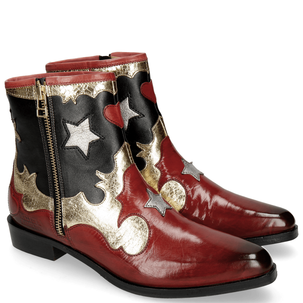 Bottines Marlin 12 Ruby Cromia Gold