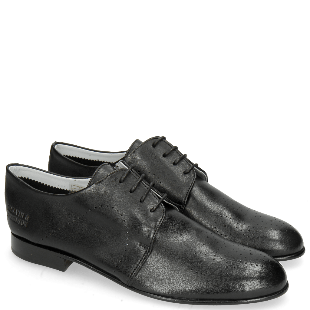 Derbies Sally 1 Nappa Glove Black