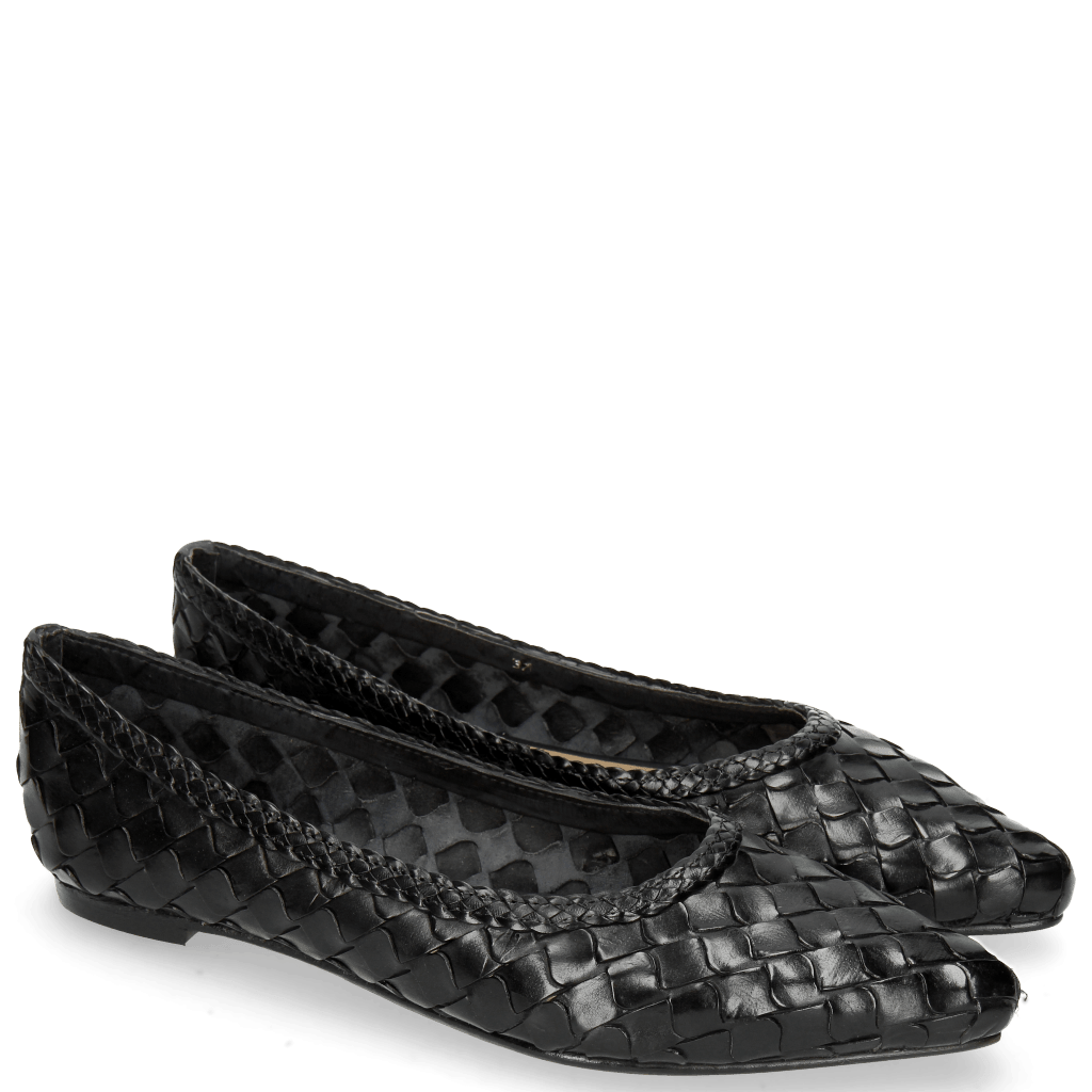 Ballerines Lydia 3 Woven Scale Black