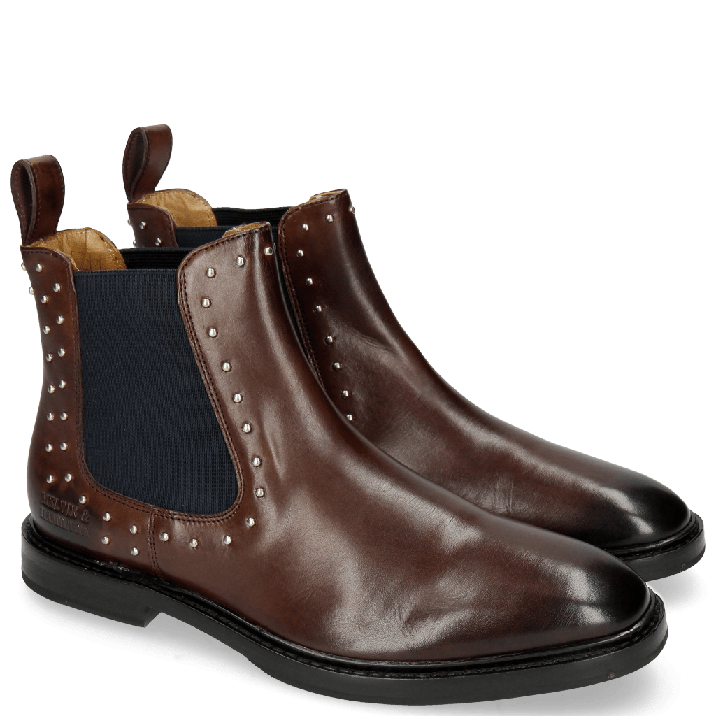 Bottines Katrin 3 Mogano Rivets
