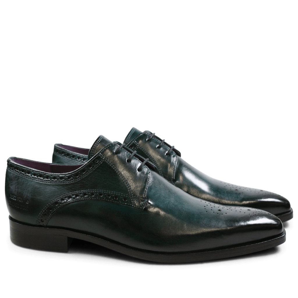Derbies Lance 4 Crust Forest Green HRS