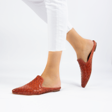 Mules Lydia 2 Woven Scale Earthly