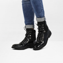 Bottines Amelie 74 Patent Lima Black