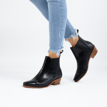 Bottines Kylie 1 Vegas Black Elastic Black