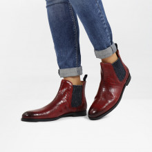 Bottines Susan 10 Crock Ruby Elastic Glitter