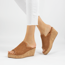 Mules Hanna 57 Mignon Sheep Hazel Cork