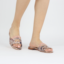 Mules Hanna 81 Flower Print Footbed