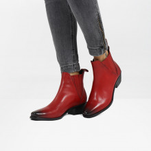 Bottines Kylie 1 Ruby Elastic Black