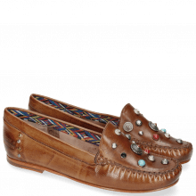 Mocassins Bridget 1 Milano Tan Rivets