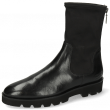 Bottines Susan 69 Imola Black Stretch Destino