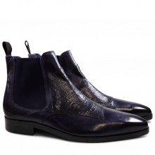 Bottines Lewis 35 Skink Melanzana Elastic Purple Flame