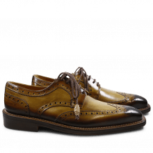 Derbies Marvin 1 Cedro Toe Shade Dark Brown LS Gold