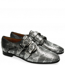 Monks Scarlett 12 Snake Silver Buckle