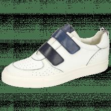 Sneakers Harvey 28 Milled White Strap Vegas Navy