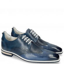 Derbies Dave 2 Tough Vegas Nappa Navy Glove Perfo