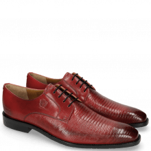 Derbies Martin 1 Venice Guana Ruby Laces Navy