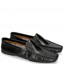 Mocassins Home Donna Black Sock Fur