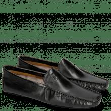 Mocassins Home Donna Black Sock Fur