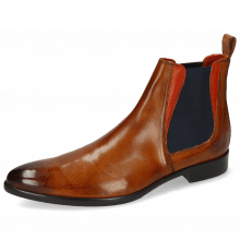 Bottines Toni 6 Cognac Winter Orange Lining
