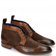 Bottines Victor 7 Rio Chocolate Mid Brown Suede