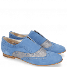 Mocassins Sonia 1 Parma Suede Greek Blue