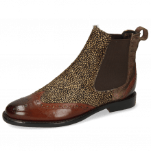 Bottines Selina 29 Brown Hairon Halftone Mogano Pitonis