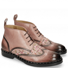 Bottines Sally 30 Rosa Fermont Copper Textile