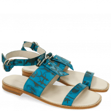 Sandales Elodie 5 Venice Turquoise