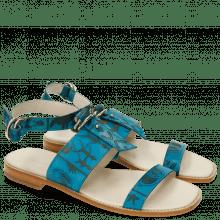 Sandales Elodie 5 Venice Turquoise