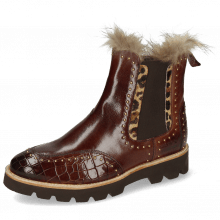 Bottines Daisy 4 Crock Mogano Hairon Tanzania Collar Fur