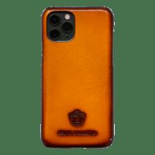 Coque iPhone Eleven Pro Vegas Yellow Edge Shade Wood