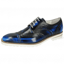 Derbies Clark 45 Brush Off Perfo Blue
