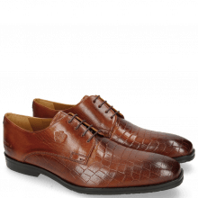 Derbies Greg 4 Venice Crock Tan